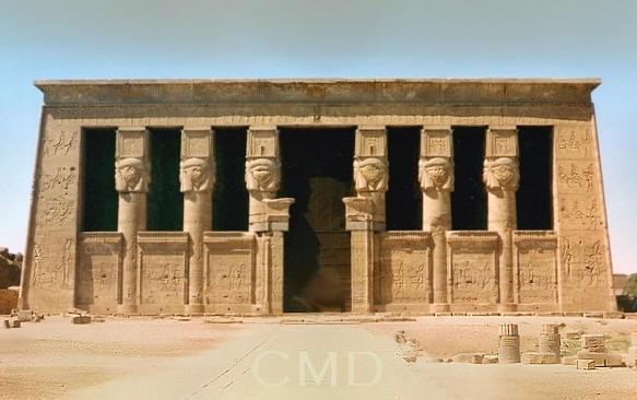Dendera Temple of Hathor Egypt image ancient Egyptian timelineAncient Egyptian Timeline Old New Kingdom Colette Dowell. Ancient Egyptian Architecture Timeline. Home Design Ideas