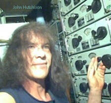 Image of John Hutchison and his electric levitation devices